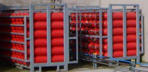 Hydrogen storage cylinders